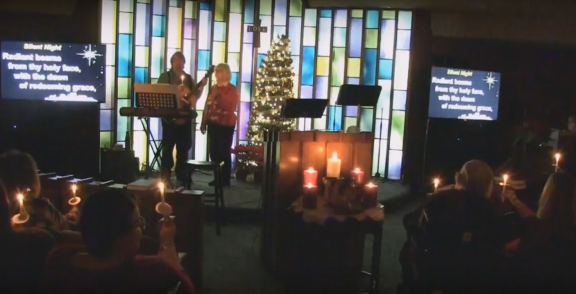 Christmas Eve Service at First Christian Church